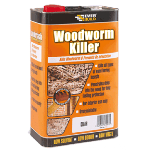 WOODWORM KILLER ΠΡΟΣΤΑΣΙΑ ΞΥΛΟΥ-wood protection